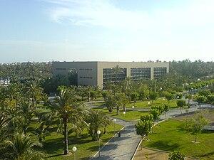 Español: Campus de la Universidad Miguel Herná...