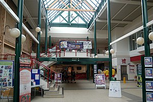 English: Daventry: inside the leisure centre