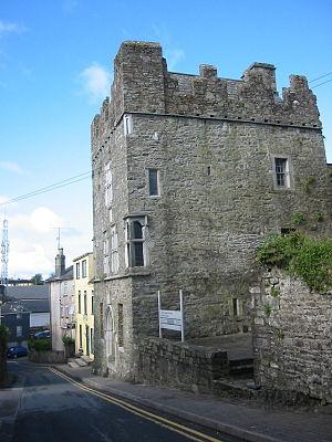 Desmond Castel in Kinsale, Ireland