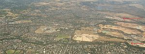 Golden Grove and Greenwith aerial view, Adelaide