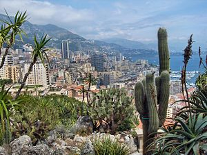 View on Monaco and Monte-Carlo as seen from th...
