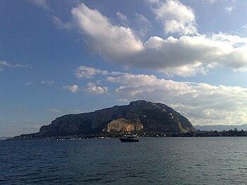 English: Palermo: Monte Pellegrino (Mondello) ...