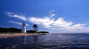 Pooles Island Lighthouse, Chesapeake Bay, MD