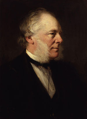 Samuel Smiles, by Sir George Reid (died 1913),...