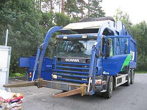Scania front loader