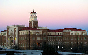 English and Philosophy building at Texas Tech ...