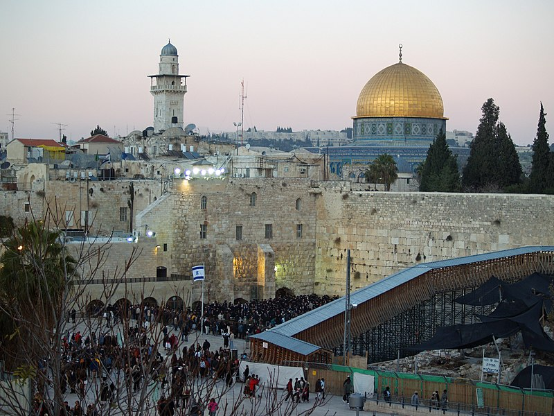 File:Temple Mount Western Wall on Shabbat by David Shankbone.jpg