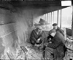 Hobos in Chicago, 1929