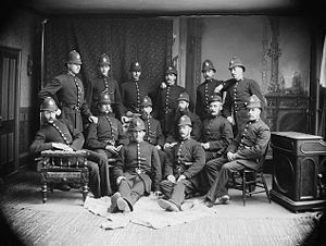 Members of the Toronto Police Force