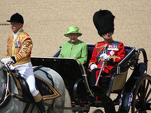 Queen's Official Birthday parade 2007