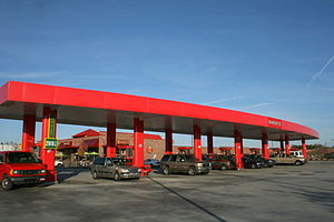 English: Sheetz gas station and convenience st...