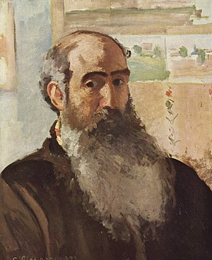 Camille Pissarro, Self-portrait, 1873
