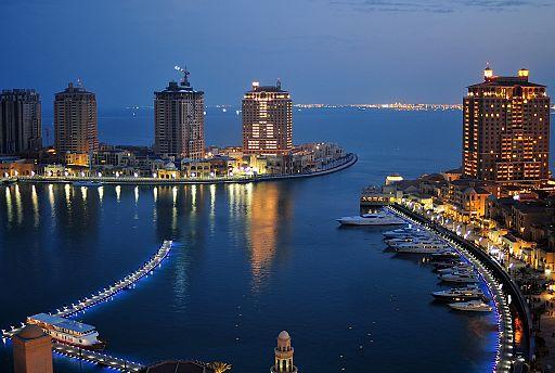 Dusk at the Pearl Qatar (6279825109)