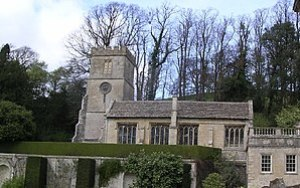 English: Dyrham Church.. St. Peter. This churc...