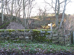 English: Footpath to the Faerie Glen