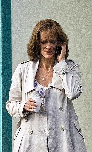 British actress .