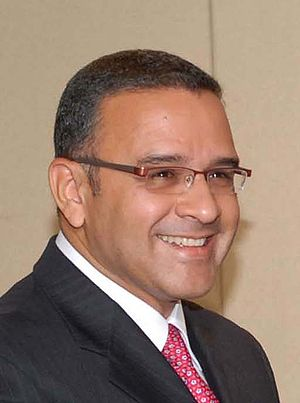 English: Mauricio Funes, FMLN candidate for th...