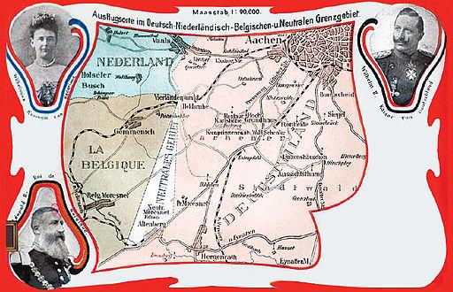 Moresnet Karte