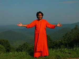 Sri Swami Mayatitananda, Mother Maya, arms ope...