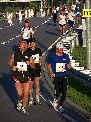 Rostock-Marathon bei Schmarl, Rostock