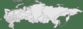 Chelyabinsk trên bản đồ Nga