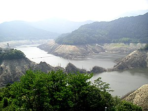 English: Sameura dam, Kochi Prefecture, Japan ...