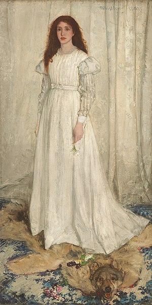 James Abbott McNeill Whistler, Symphony in Whi...