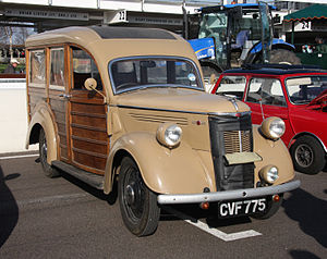 1930s Ford Woodie