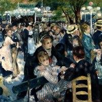 Dance at le Moulin de la Galette by Pierre-Auguste Renoir