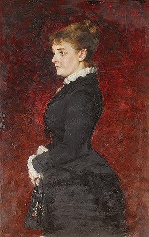 Portrait - Lady in Black Dress
