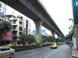Skytrain, Bangkok, Thailand
