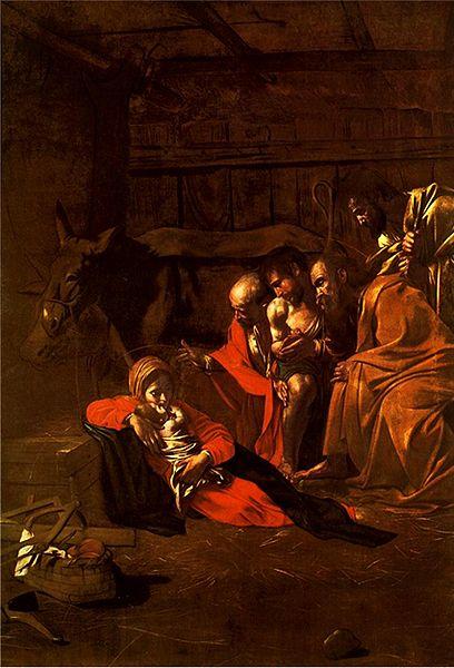 File:Caravaggio - Adorazione dei pastori.jpg