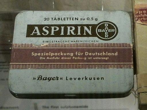 D-BW-Heidelberg - Deutsches Apothekenmuseum - Aspirin 1