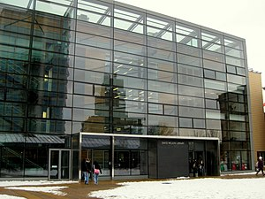 English: David Wilson Library, University of L...