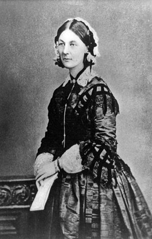English: Florence Nightingale, pioneer of mode...