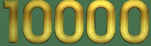 Golden number 10000