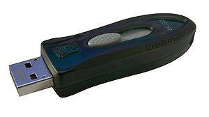 English: Kingston DataTraveler 110 8GB USB fla...