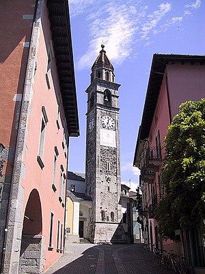 Deutsch: Kirche Santi Pietro e Paolo in Ascona...