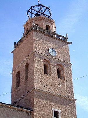 English: Torre de la Colegiata de San Antolín,...