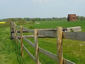 Newton Mill A horse training area