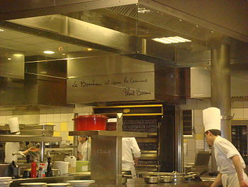 English: Paul Bocuse Cuisine Lyon, France