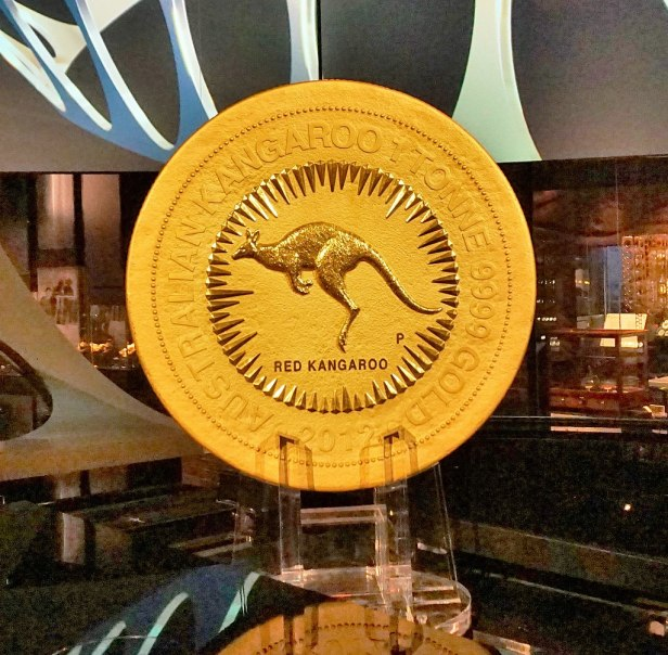 Perth Mint - The One Tonne Gold Coin 2