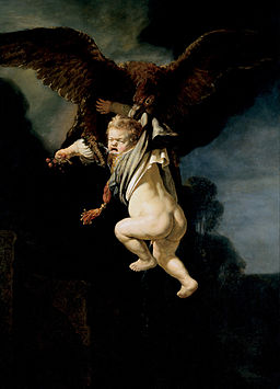 Rembrandt - The Abduction of Ganymede - Google Art Project