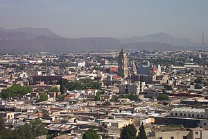 Saltillo, the capital of Coahuila.