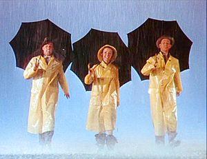 English: Gene Kelly, Debbie Reynolds and Donal...