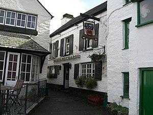 Three Pilchards pub, Polperro Village...