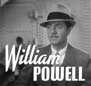 Cropped screenshot of William Powell from the ...