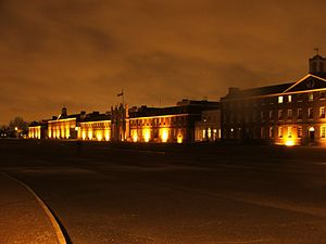 The Royal Artillery Barracks.