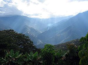 Andes near of La Paz 2