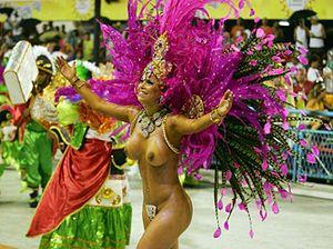 Carnaval at Rio 1 Feb 2008
